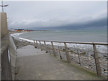 J3730 : Ramp leading to the beach at the southern end of the Central Promenade by Eric Jones