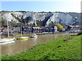 TQ4210 : River Ouse at Lewes by PAUL FARMER