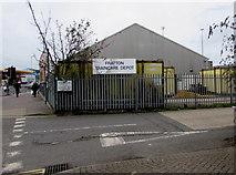 SZ6599 : Fratton Traincare Depot entrance, Portsmouth by Jaggery