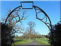 SU6961 : Through a Churchyard Gate by Des Blenkinsopp