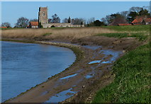 TF6013 : River Great Ouse at Wiggenhall St Peter by Mat Fascione