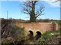 SU6963 : Small Bridge near Beech Hill by Des Blenkinsopp