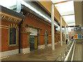 SJ7687 : Altrincham interchange: old station building by Stephen Craven