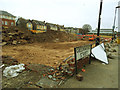 SJ7687 : Site of the old Altrincham Hospital (2) by Stephen Craven