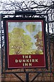 SK5538 : The sign of the Dunkirk Inn by David Lally