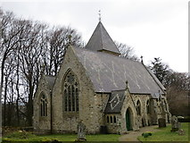 NY9449 : The Church of St James in Hunstanworth by Peter Wood