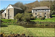 SX1454 : Penpoll Mill and Mill House by Derek Harper