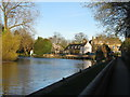 TL2970 : The River Great Ouse at Hemingford Grey by M J Richardson