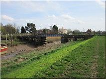 TA0623 : The railway bridge, Barrow Haven by Jonathan Thacker