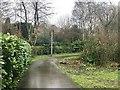 SJ8662 : Footpath off Townsend Road, Congleton by Jonathan Hutchins