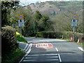 SO0942 : A470 approaching Erwood by David Dixon