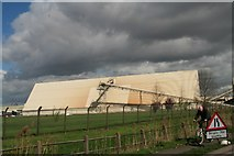 TA1914 : Industry by Kings Road, Immingham by Chris
