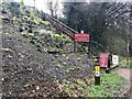 SJ8762 : Steps up from the Macclesfield Canal to the Queens Head, Congleton by Jonathan Hutchins