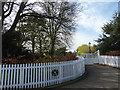 TQ9761 : Entrance to The Old Rectory by Marathon