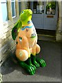 SU1093 : Cotswold Hare Trail, Meadowpark School, High Street, Cricklade (2) by Brian Robert Marshall