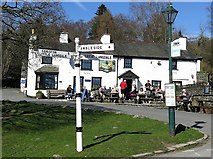 NY3204 : Britannia Inn, Elterwater by Andrew Curtis