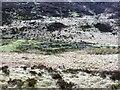 NN0037 : Disused sheepfank on the bank of Allt Bealach Carra by John Ferguson