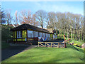 TA0389 : Cafe in Peasholm Park (closed) by Stephen Craven