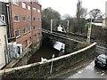 SJ8762 : Mill, canal, railway by Jonathan Hutchins