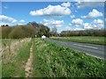 SE4839 : Towton Battlefield Trail, alongside the B1217 by Christine Johnstone