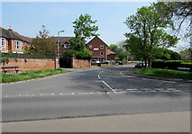 ST3049 : Western end of Rectory Road, Burnham-on-Sea by Jaggery