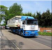 ST3049 : Toogoods caravan transport lorry in Burnham-on-Sea by Jaggery