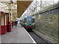 SD8010 : Bury Bolton Street Station, DMU Arriving at Platform 4 by David Dixon
