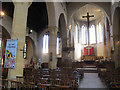 TA0388 : St Columba's Church, Scarborough - nave by Stephen Craven