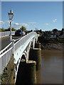 ST5394 : Old Wye Bridge, Chepstow by Chris Allen