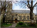 ST3037 : South side of St John the Baptist Church, Bridgwater by Jaggery