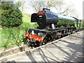 SE0337 : The Flying Scotsman passing through Haworth Station by Philip Halling