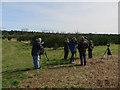 TF7805 : Birdwatchers, Cockleycley Wood by Hugh Venables
