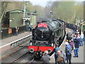 SE7984 : 46100 Royal Scot arrives at Pickering by Jonathan Thacker