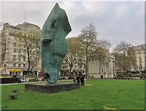 TQ2780 : 'Still Water' at Marble Arch by Paul Harrop