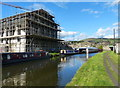 SE0446 : Leeds and Liverpool Canal in Silsden by Mat Fascione