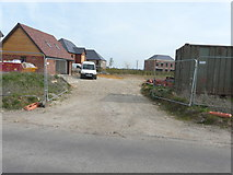 TR2955 : New entrance to redevelopment of former Hammill Brick Works by John Baker