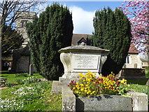 TQ3793 : All Saints Churchyard, Chingford by Marathon