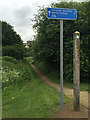 SP3780 : Link to the Sowe Valley Footpath from Dorchester Way, Walsgrave, east Coventry by Robin Stott