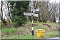 NY4882 : Old signpost near Kershopefoot by Jim Barton