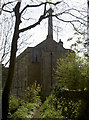 ST7860 : Chimney from the path by Neil Owen