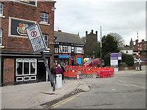 SJ4066 : Frodsham Street improvement works, Chester by Jeff Buck