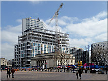 SP0686 : City centre regeneration in Birmingham by Roger  Kidd