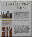 NN9018 : Welcome to Innerpeffray Chapel by M J Richardson