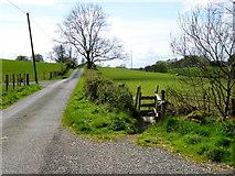 H5070 : Dryarch Road, Lisboy by Kenneth  Allen