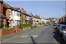 SO9096 : Westbourne Road in Penn, Wolverhampton by Roger  Kidd