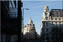 TQ3282 : View of the Singer Tavern building from City Road by Robert Lamb