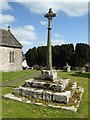 SO4103 : Preaching cross, Llandenny  by Philip Halling
