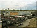 SE1628 : Low Moor station: platforms by Stephen Craven