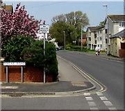 ST3049 : No vehicular access to beach, Poplar Road, Burnham-on-Sea by Jaggery