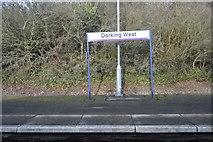 TQ1649 : Dorking West Station by N Chadwick